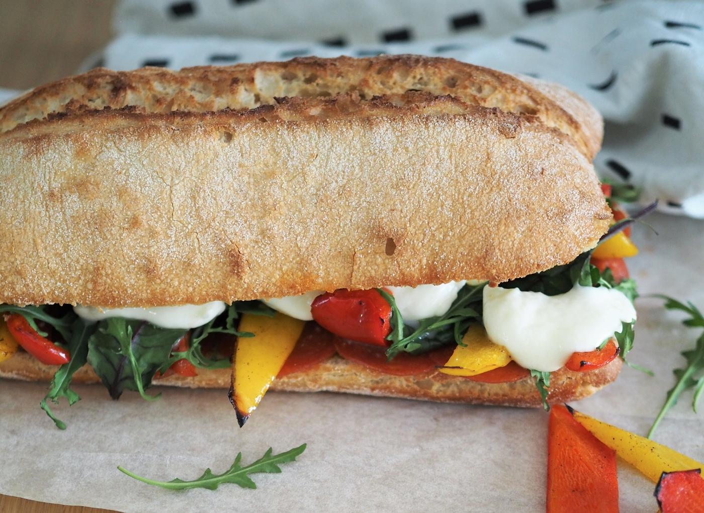 Helppoa arkiruokaa – grillattu Italian Melt