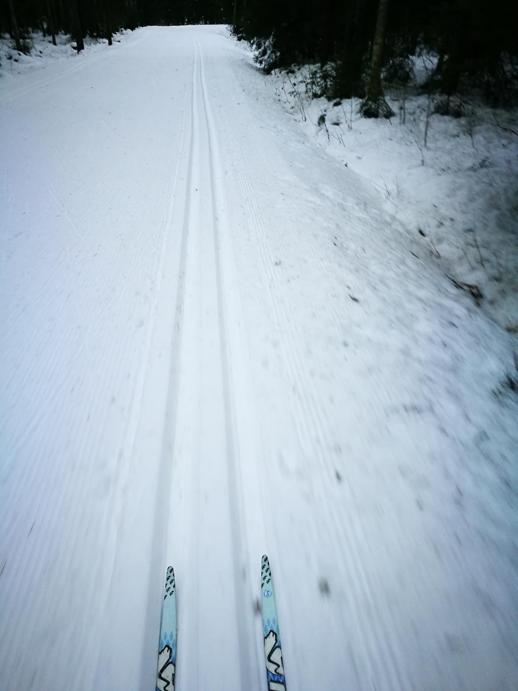 Olen aikuinen – hiihdän siis!