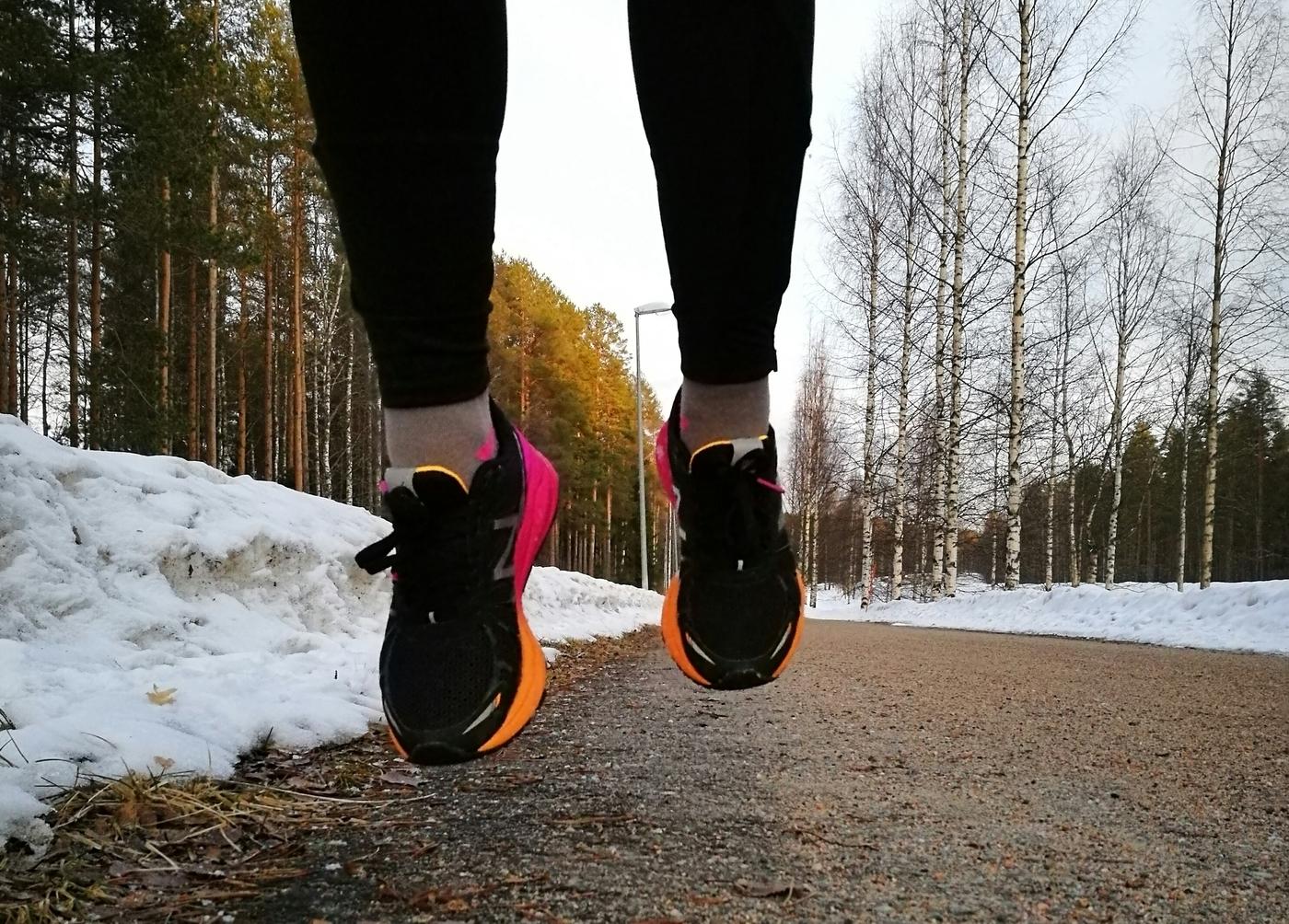 Huippu huhtikuu ja mä vaan juoksen