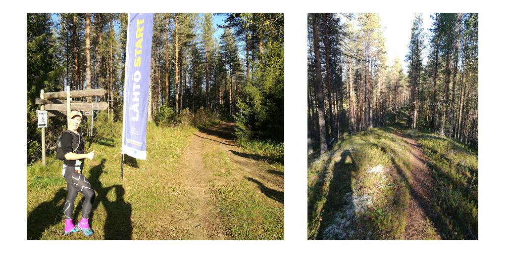 Olipahan reissu… Vuokatti Trail Challenge 57 km