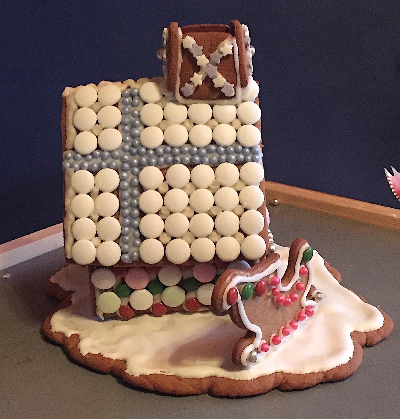 Joulun perinne: piparkakkutalo