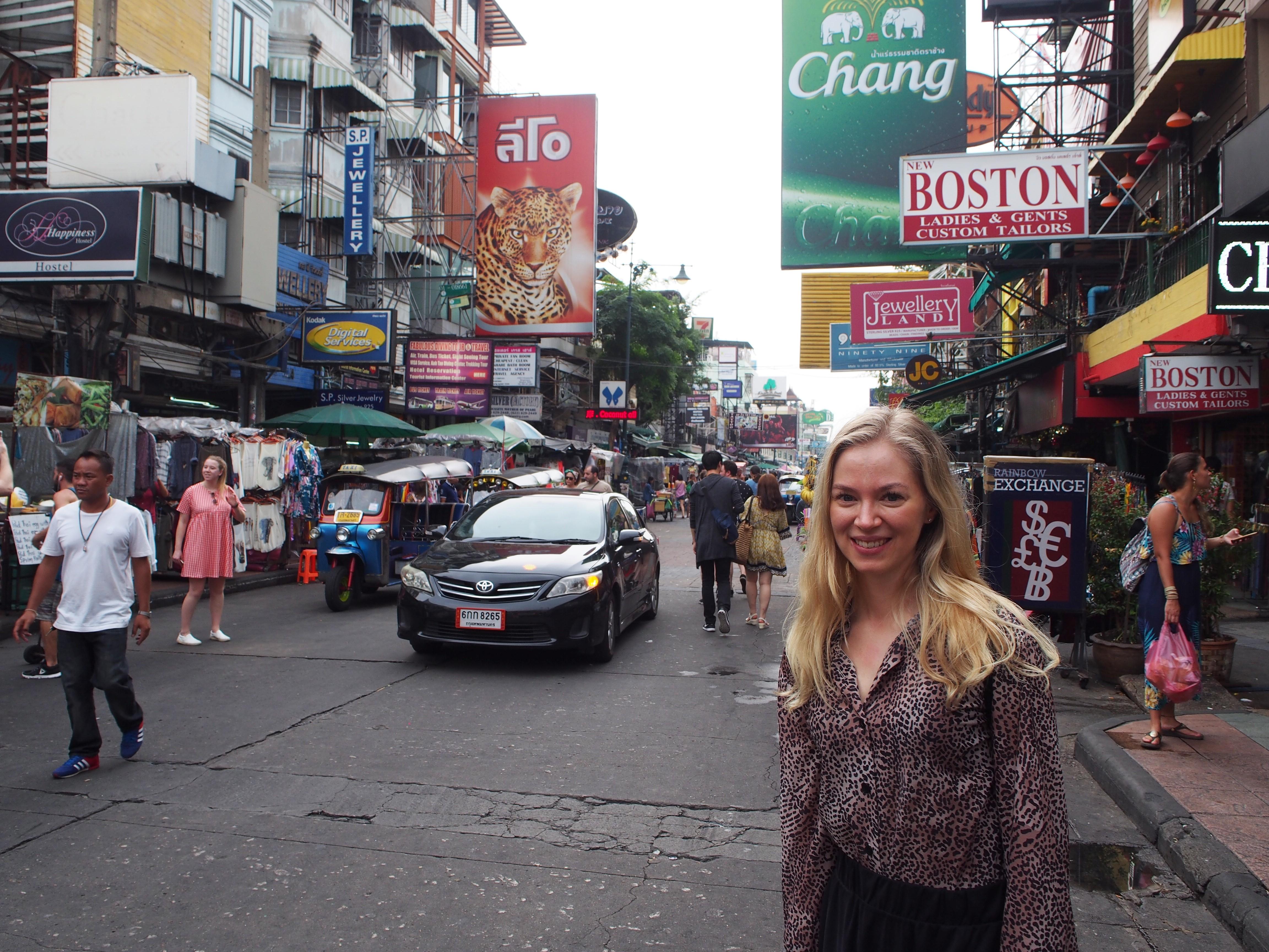 Thaimaa, Bangkok – Matkapäiväkirja
