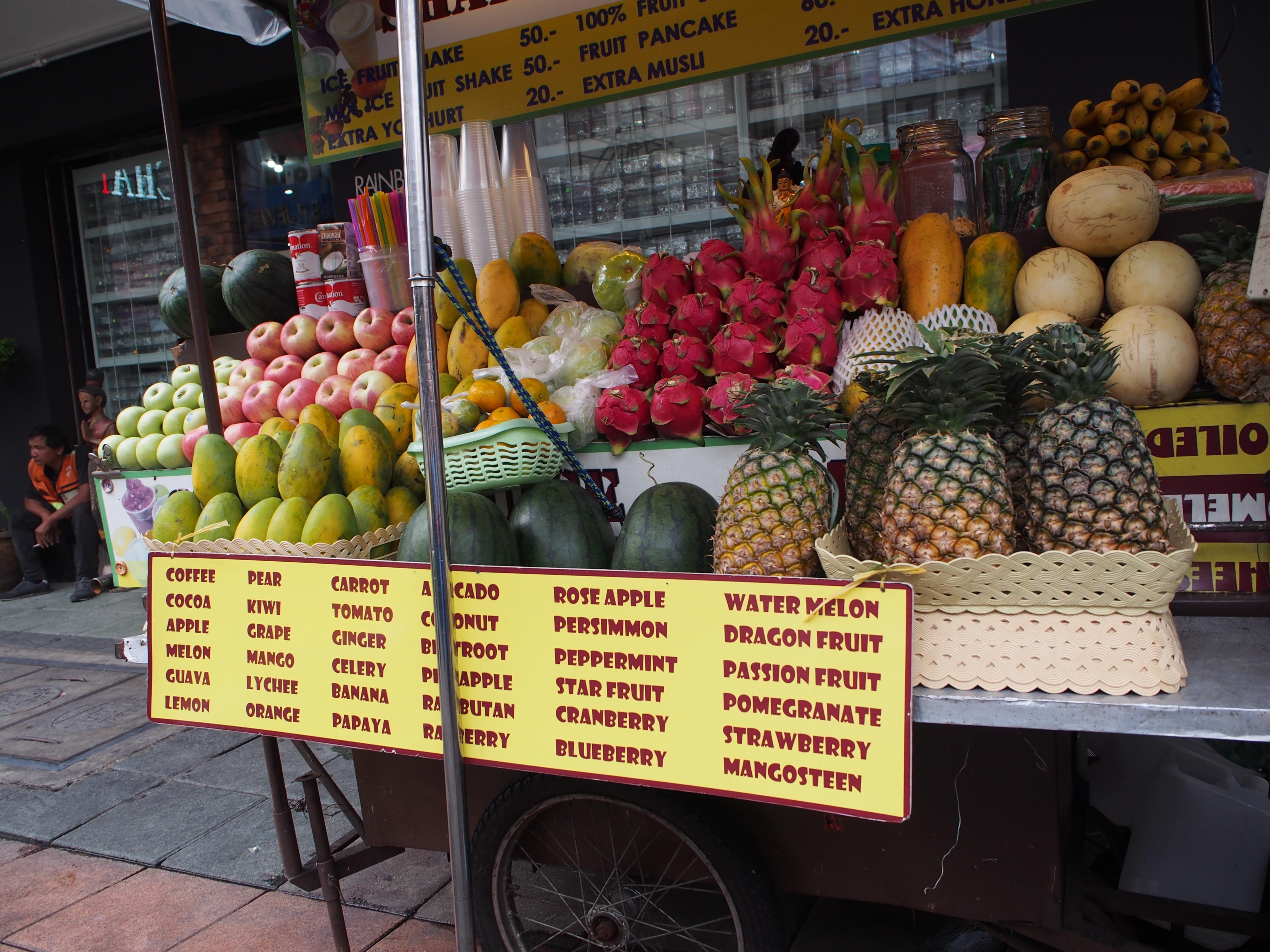 Thaimaa, Bangkok, Matkapaivakirja, matkat