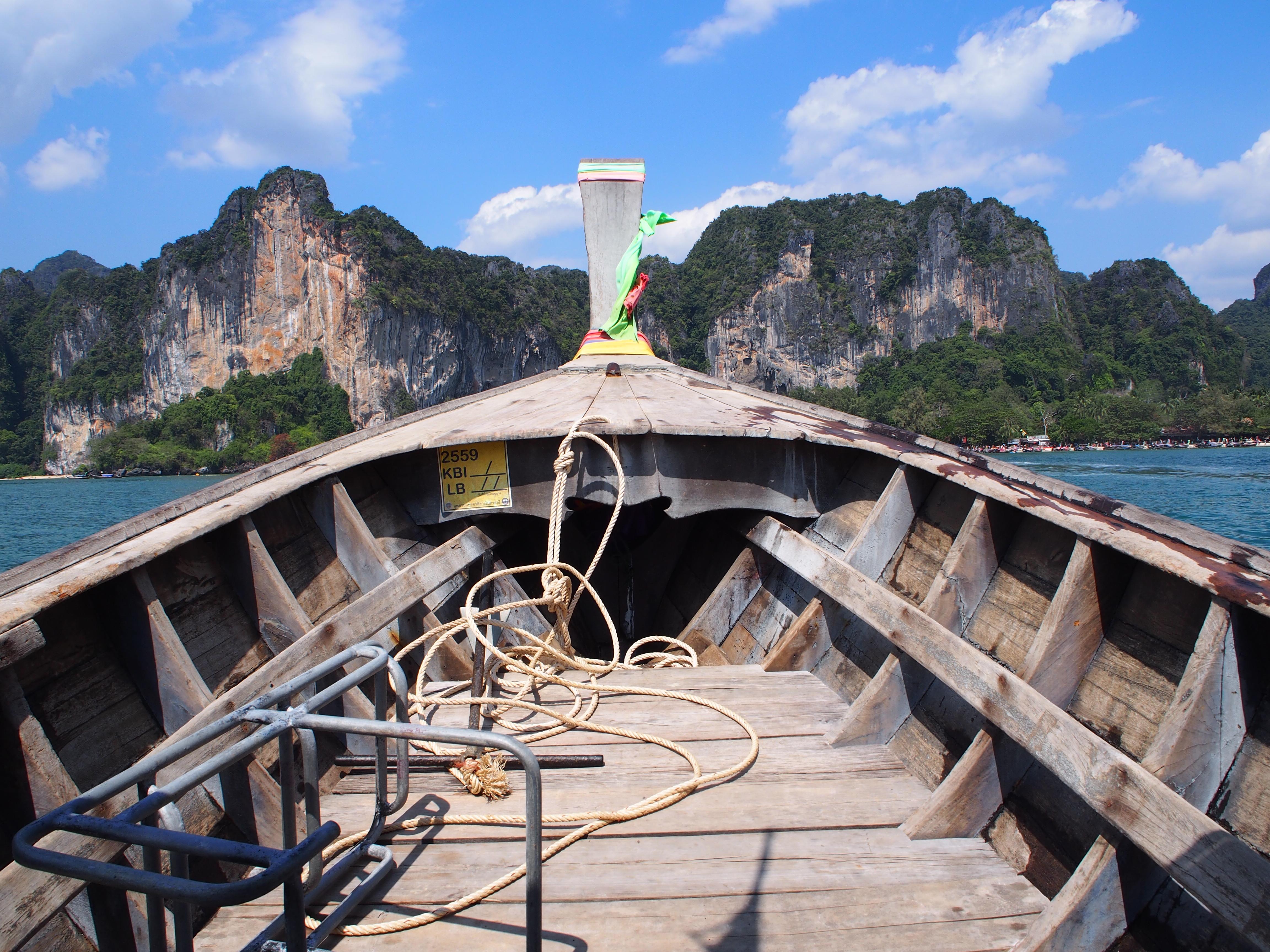 Thaimaa, Koh Phangan, Krabi, Matkapaivakirja, matkat