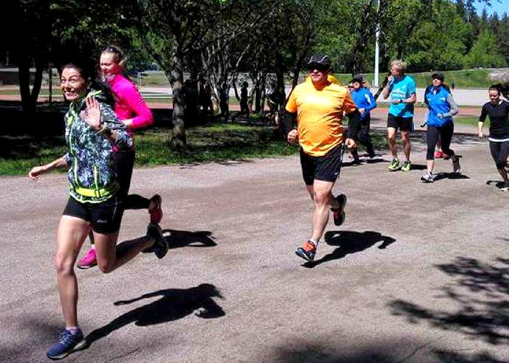 training, marathon, Helsinki city marathon