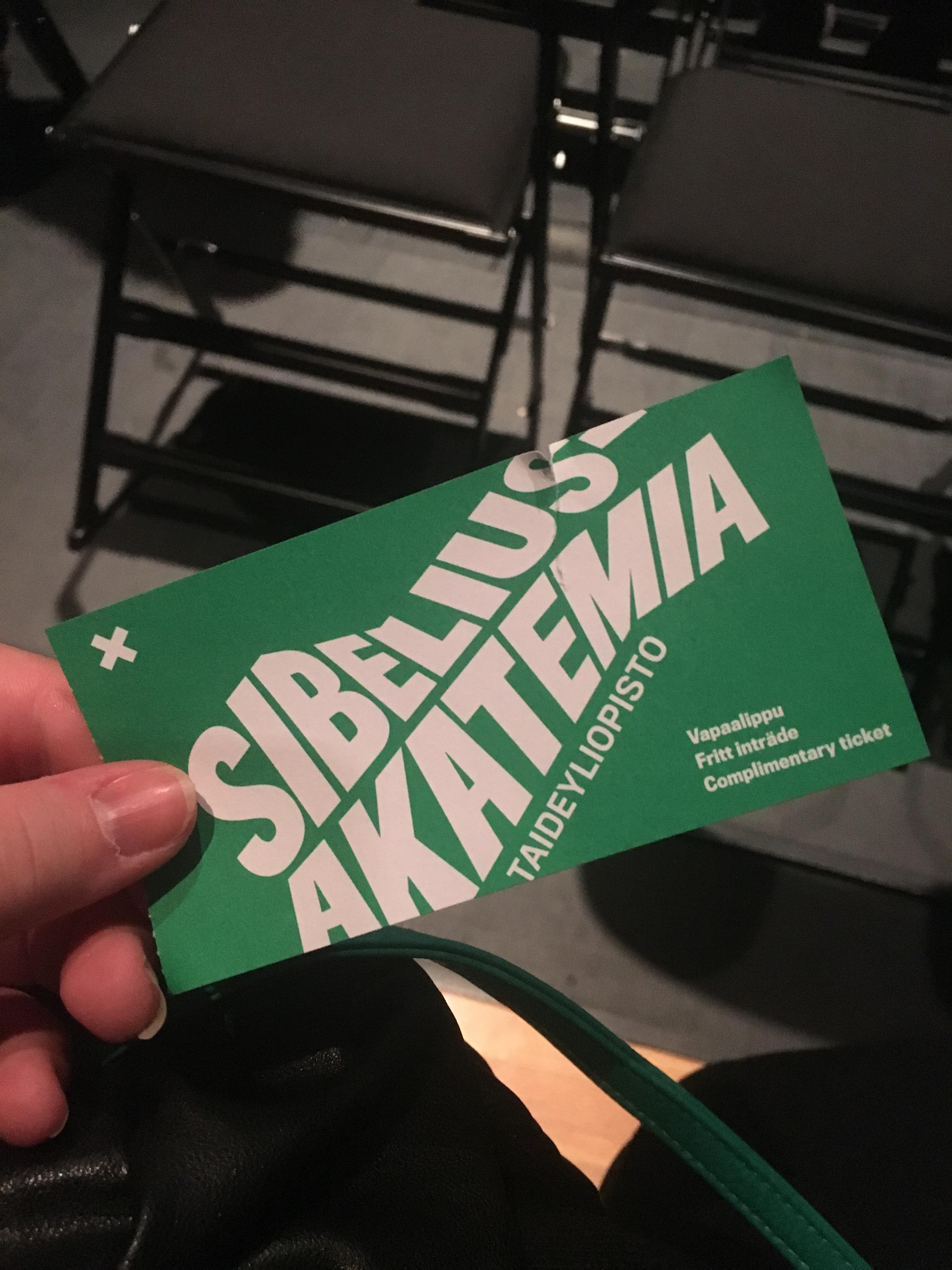 Sibafest 2018 pääsylippu