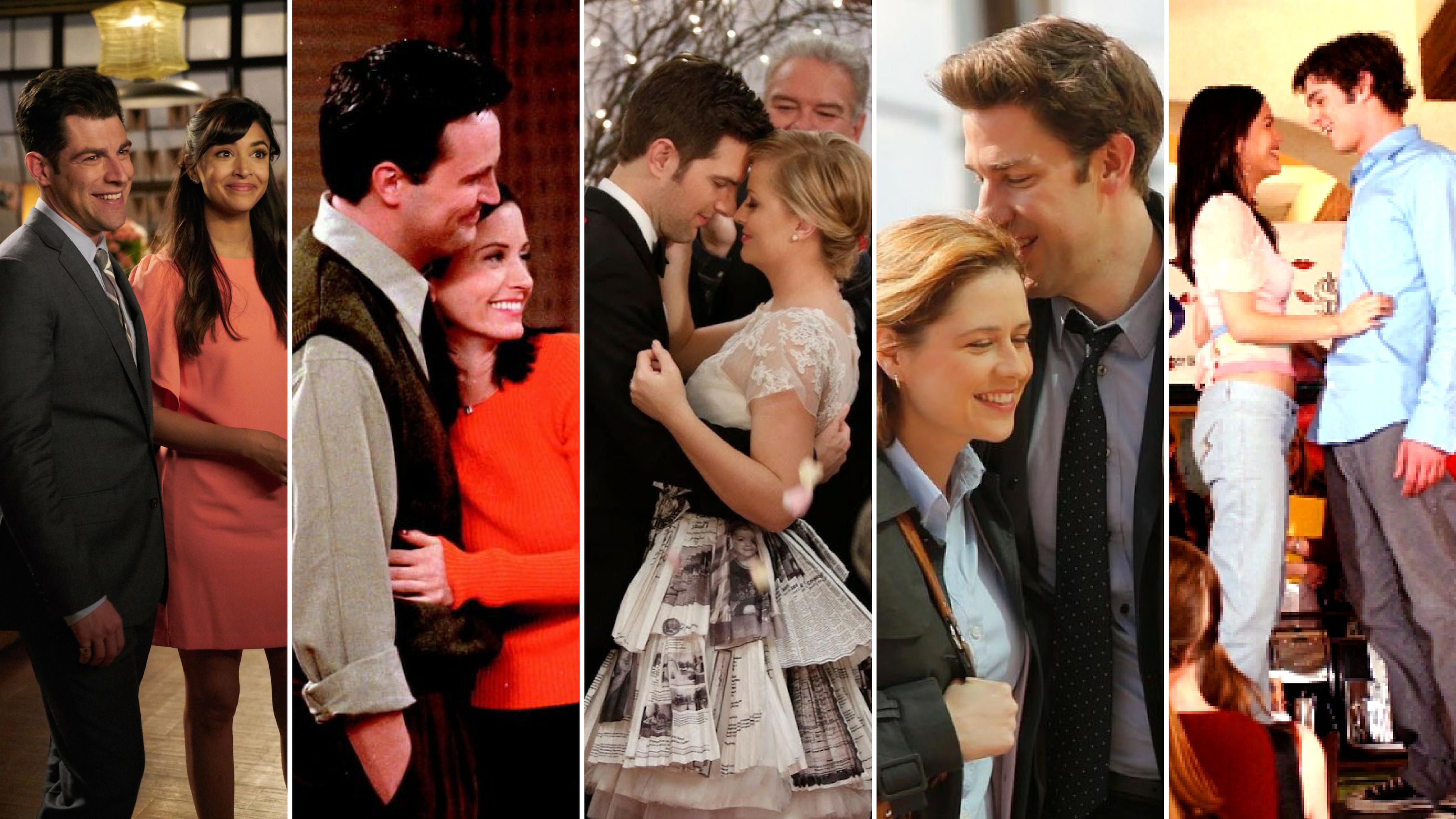 Ei Chandler ja Rachel koskaan koukku