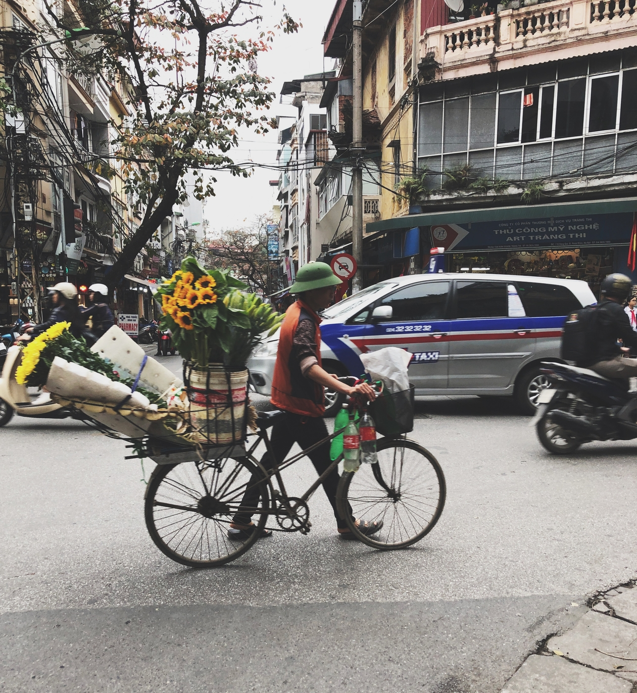 Hanoi on ihana!
