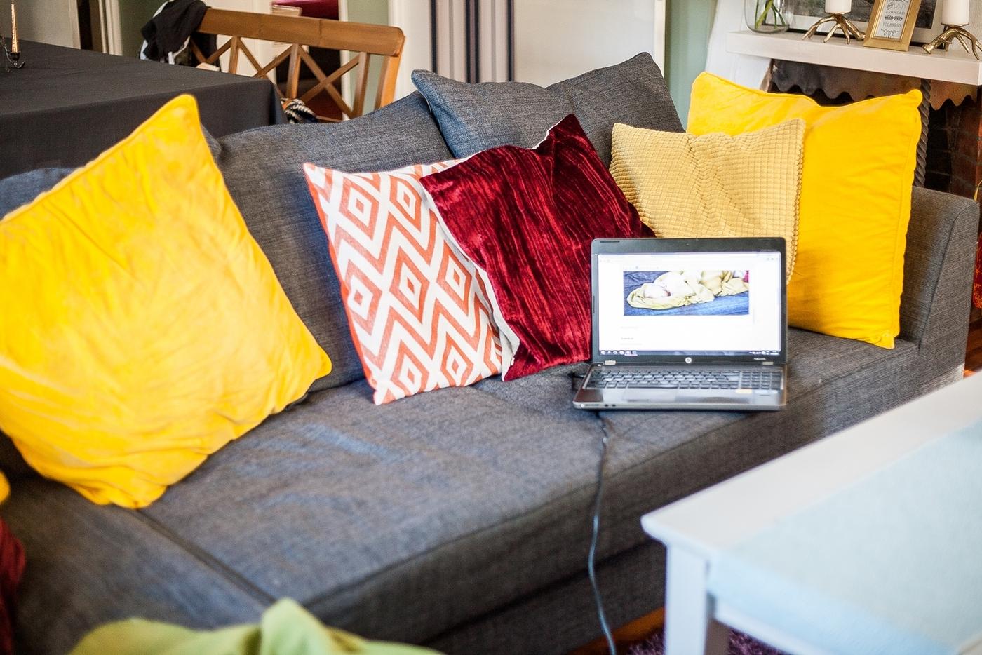 Uusi sohva ja trendipohdiskeluja…