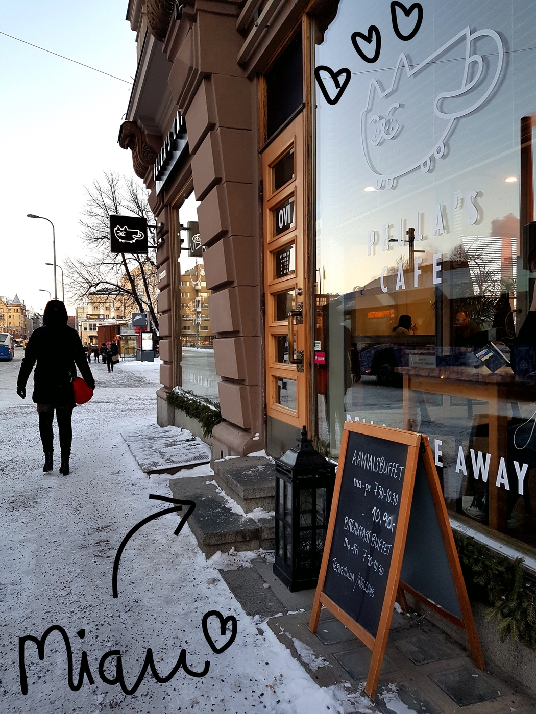 Arkibrunssien kärkeä: Pella's Cafe