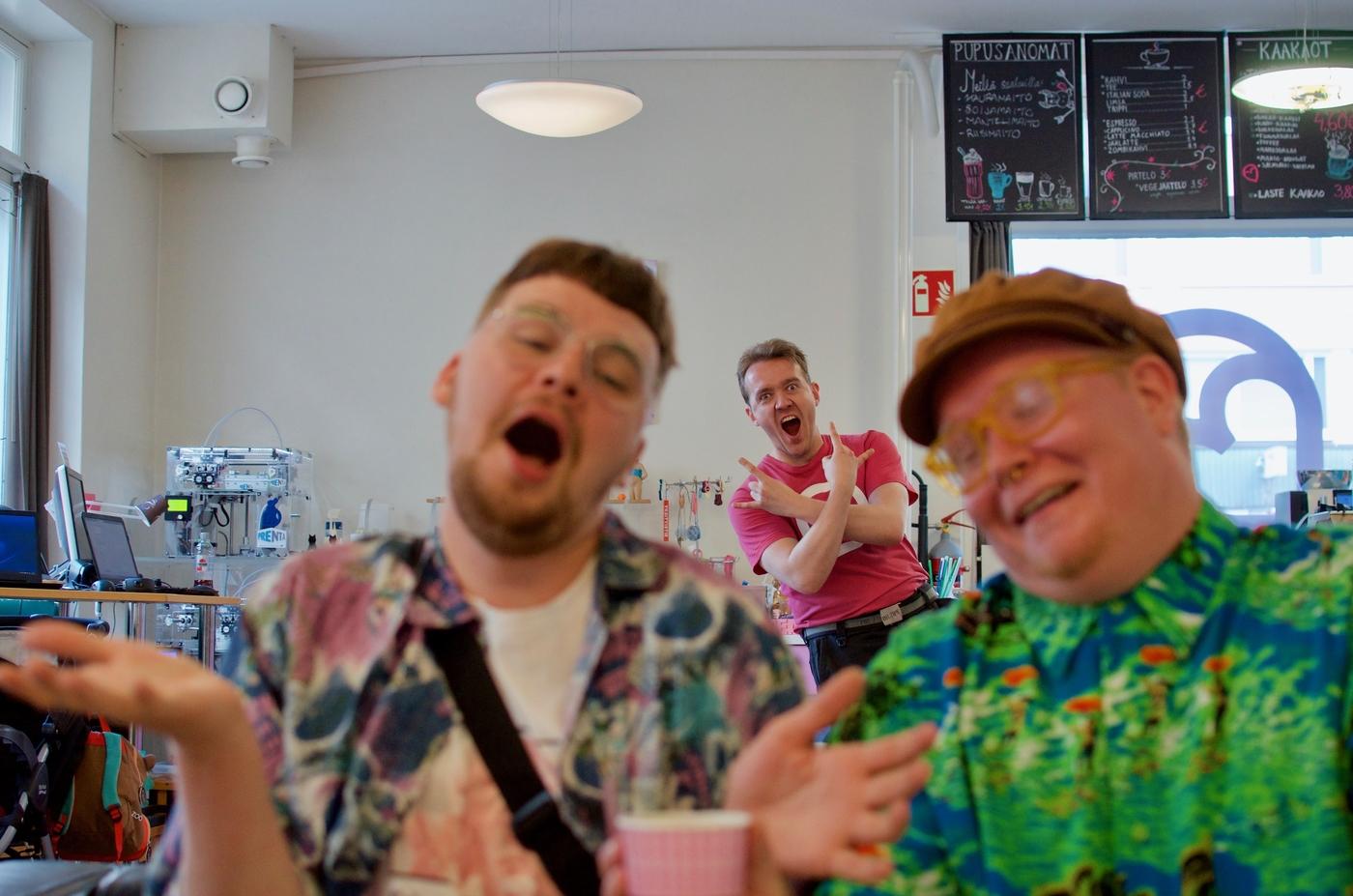 3D Crush Cafe – Pupukahvila on Tampereen virallinen luovan hulluuden pyhättö