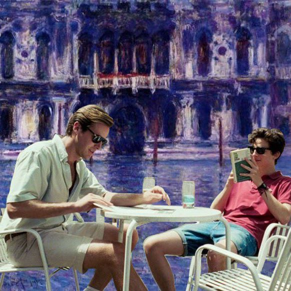Call me by your name X Claude Monet
