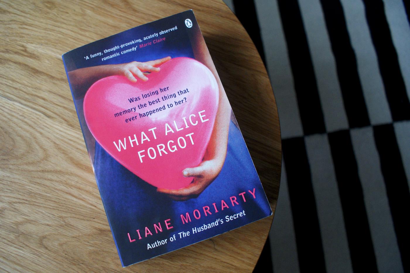 Liane Moriarty: What Alice forgot (Nainen joka unohti)