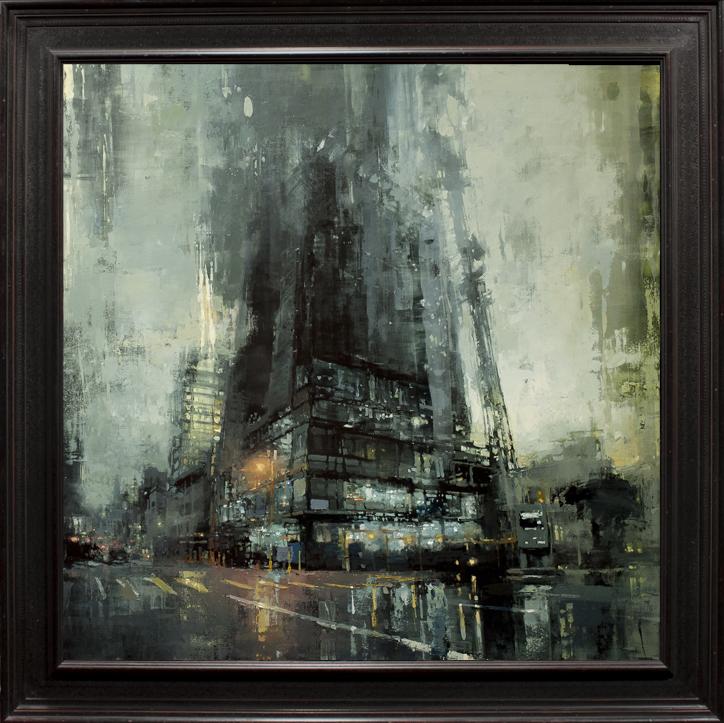 Sateinen kaupunki