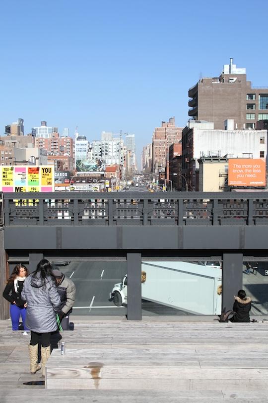 High Line, Chelsean taidegalleriat ja Ovest Pizzoteca