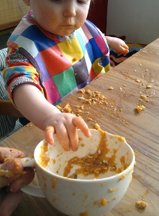 Kolmen ruokalajin vauvapäivälliset