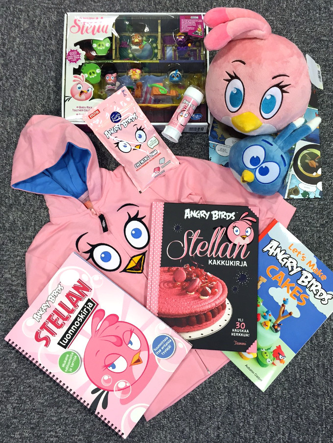 Angry Birds Stella Products.JPG