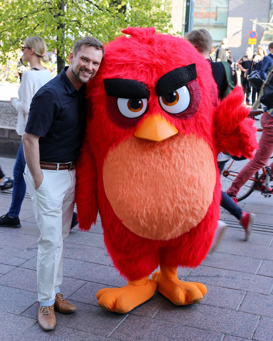 The Angry Birds Movie on täällä!