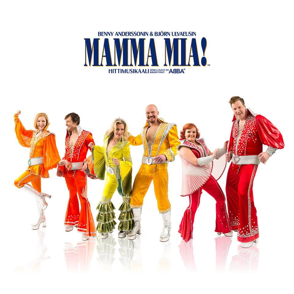 Mamma Mia! tulee nyt suomeksi – VIP-arvonta Instagramissa