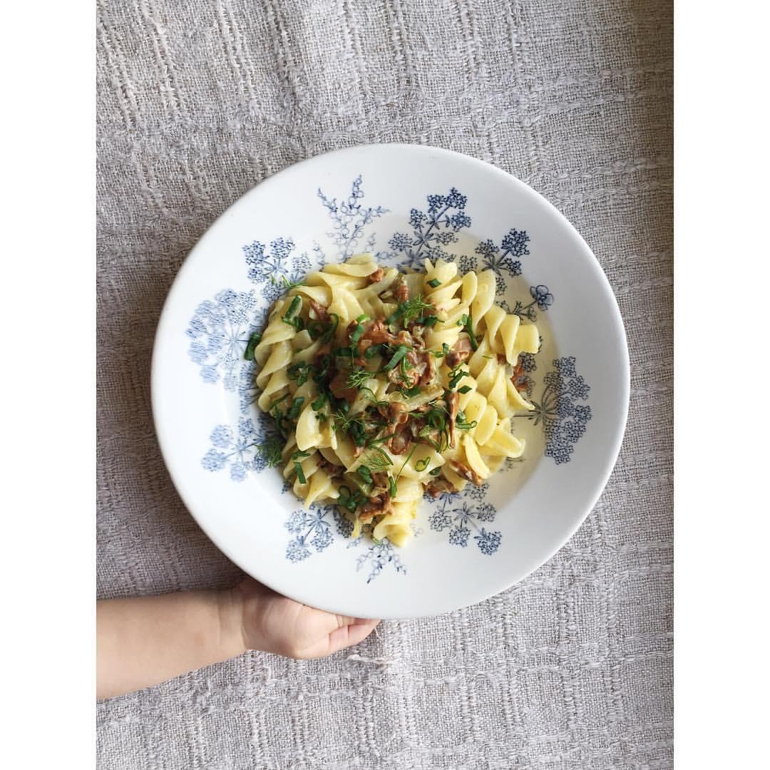 Gastronaatti - Arkiruokaa - Kantarelli-fenkolipasta.JPG