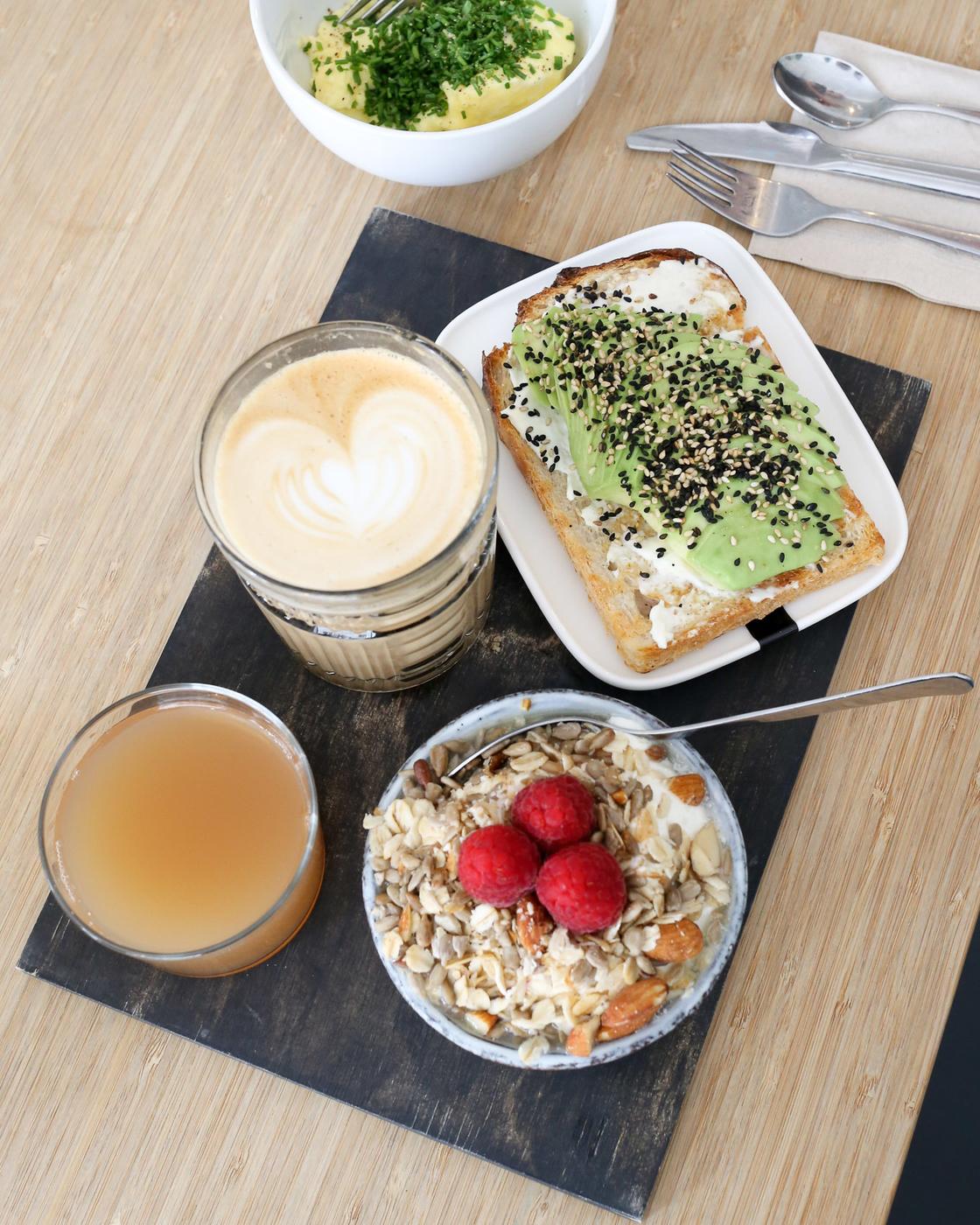 Kuuman aamiainen oli loistava alku loistavalle päivälle