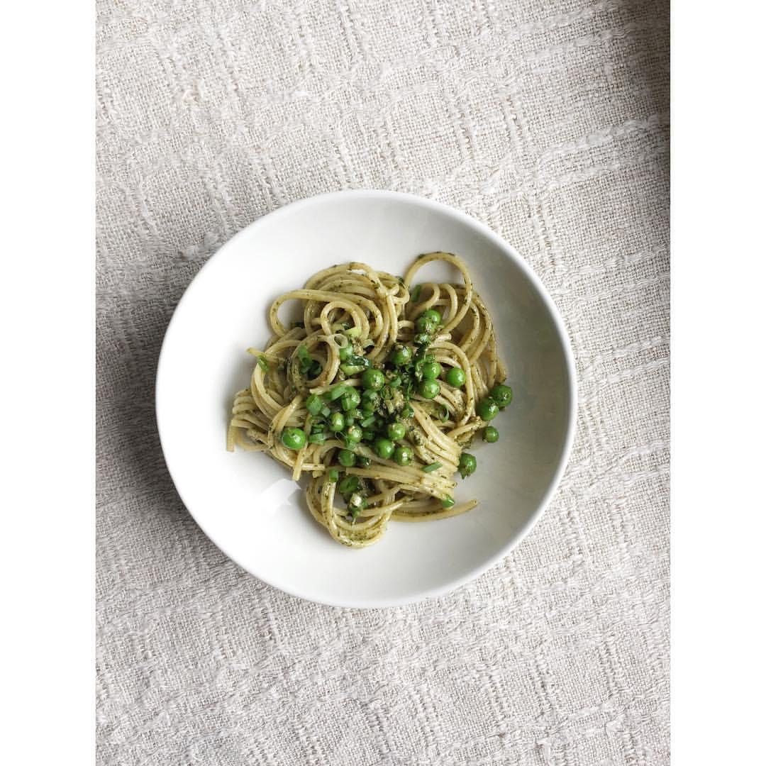 Gastronaatti - Spagettia ja basilikatahnaa.JPG