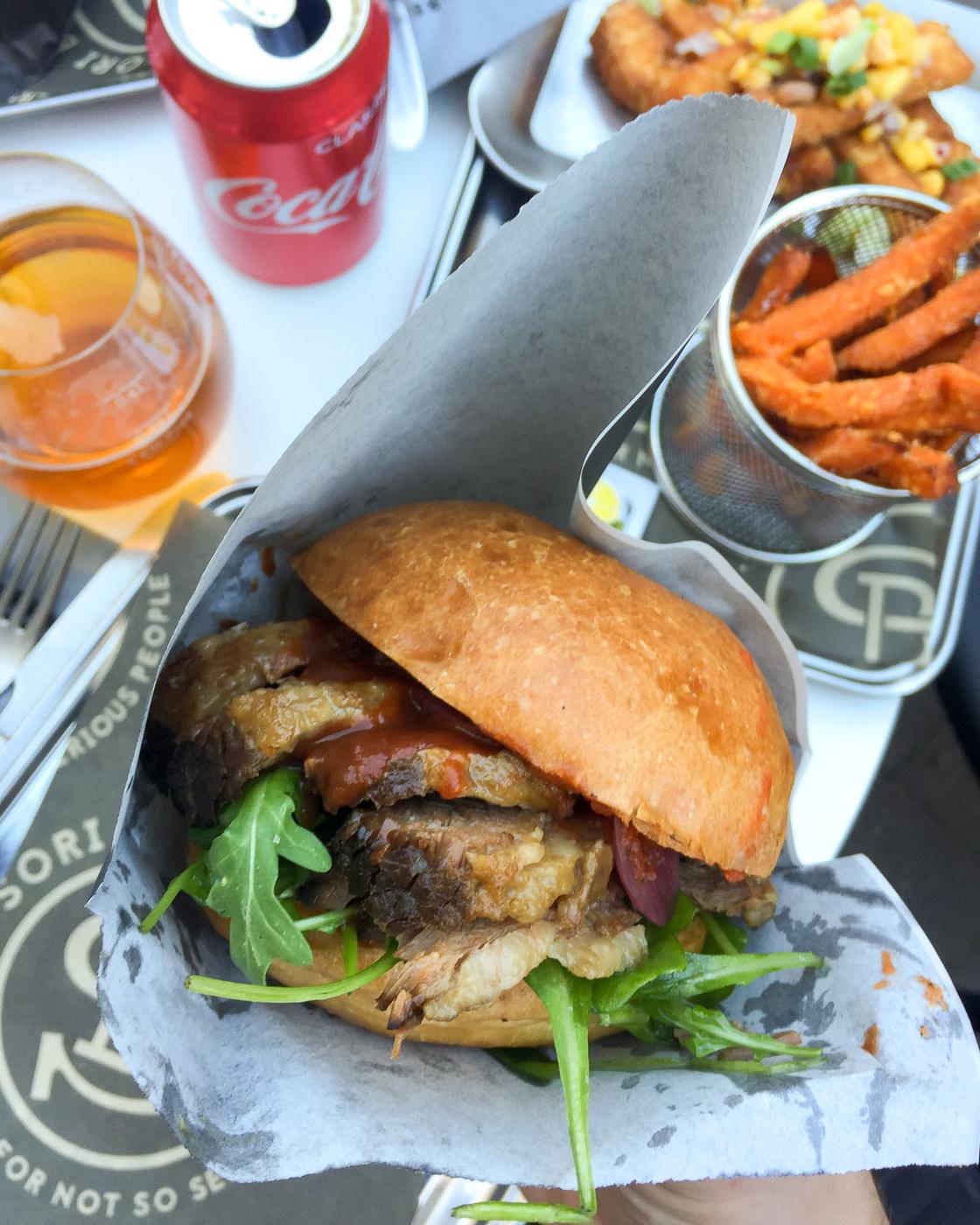 Parasta burgeria metsästämässä: Sori Taproom