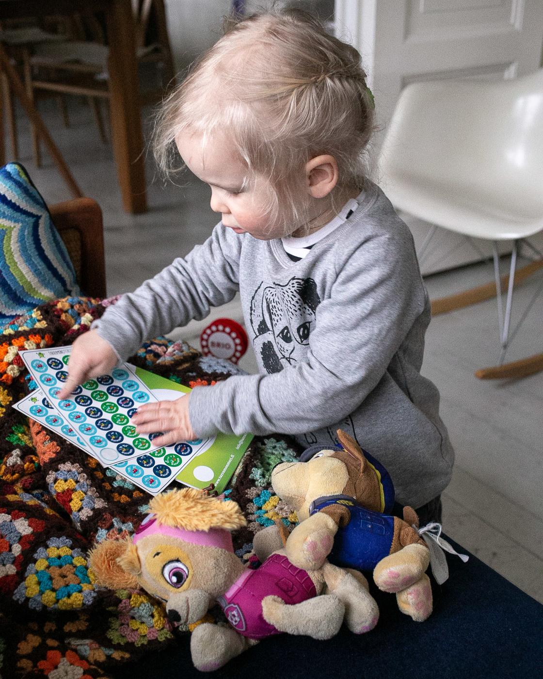 Tarramonsterilla lapsikin osaa nimikoida lelunsa itse (sis. alekoodi)