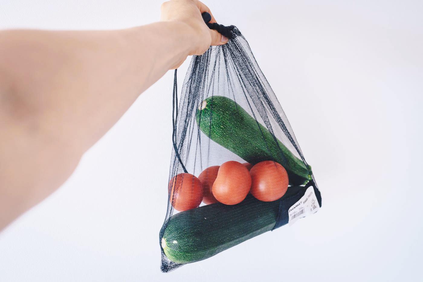 DIY: helppo itse tehty kestohedelmäpussi