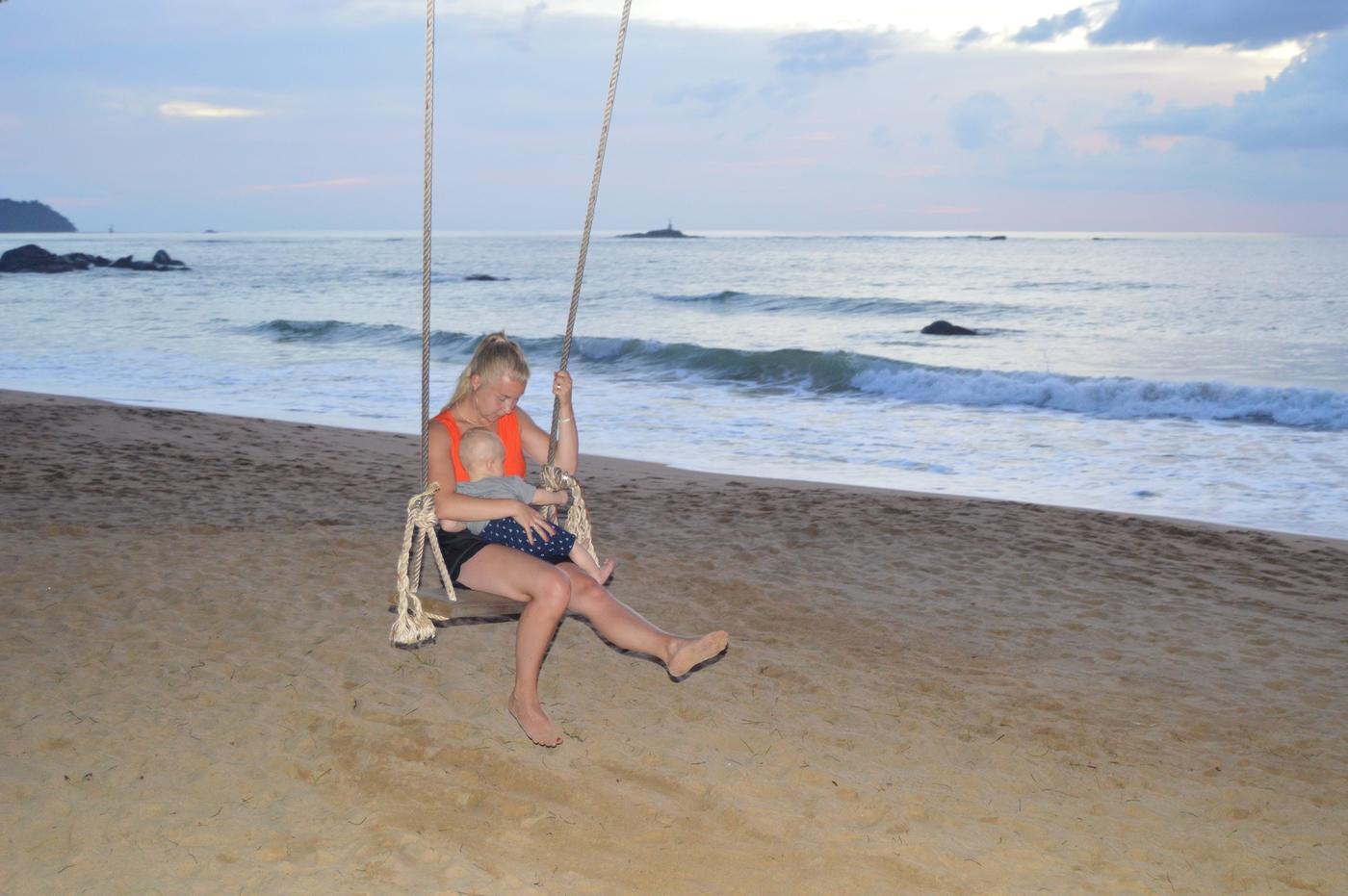 Vauvan kanssa Thaimaahan: kokemukset