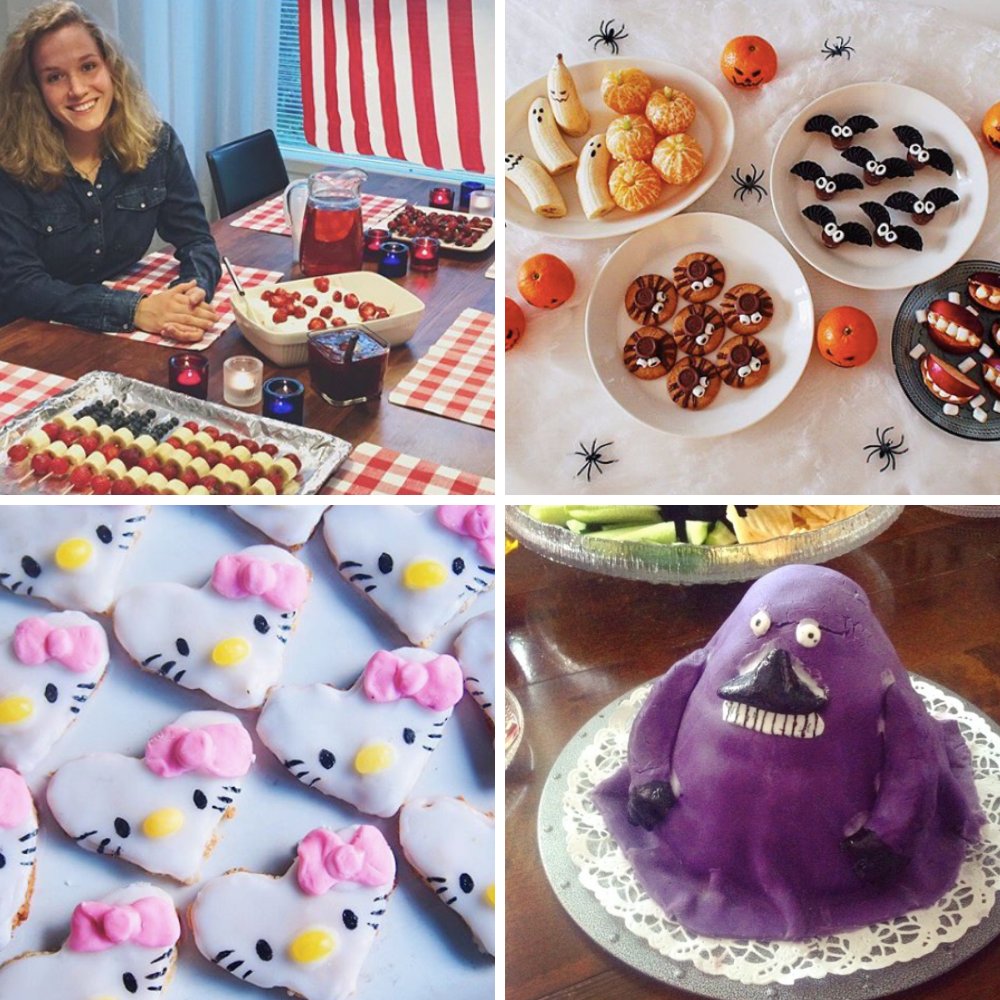 miffan-juhlat-USA-halloween-tarjoilu-hellokitty-keksit-mörkö-kakku.png