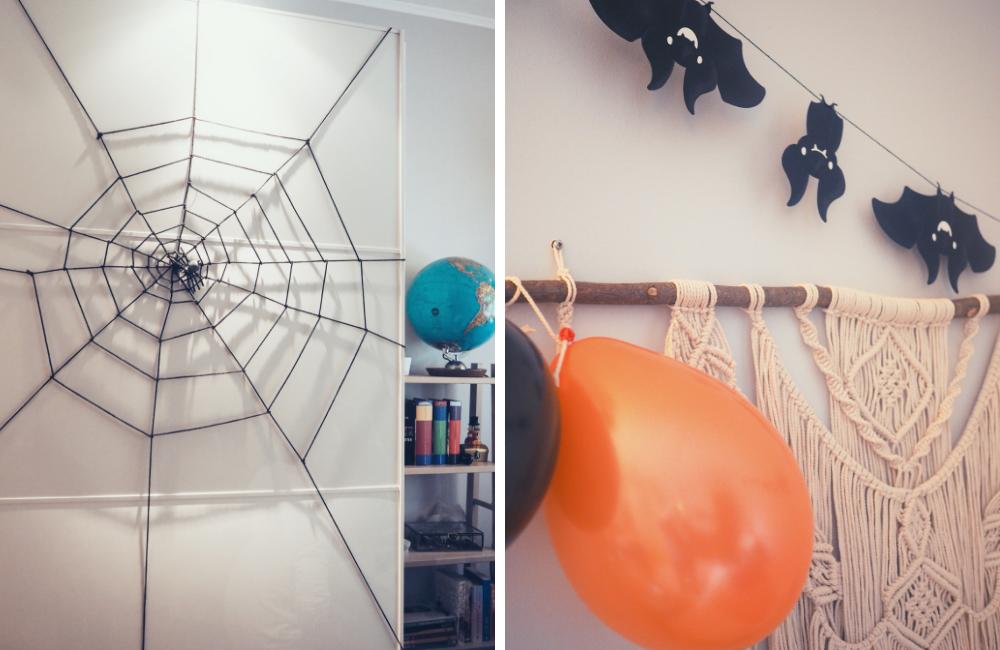 miffas-halloween-koristeet-hämähäkinverkko-lepakot.png