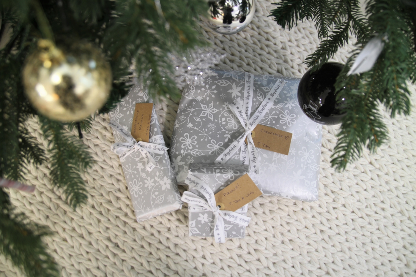 Joulu on ohi, ja vauva on pian täällä