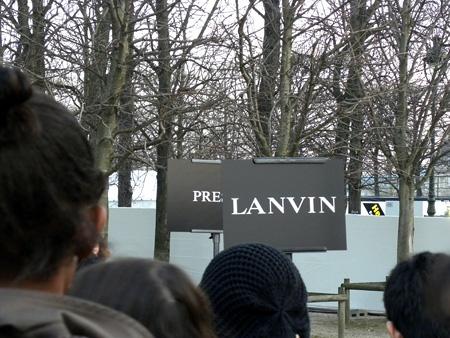 Kurkistus eiliseen Lanviniin