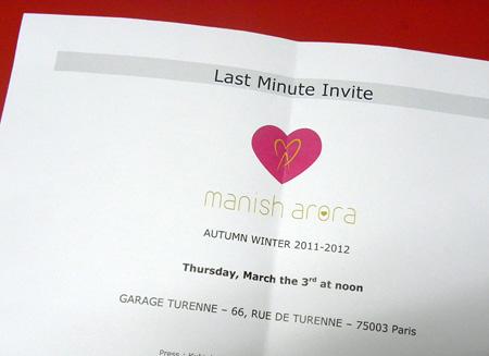 Pariisin muotiviikot kevät 2011: ensimmäinen näytös