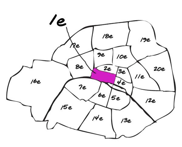 Pariisin Kaupunginosat 1e Arrondissement Laura De Lille Lily