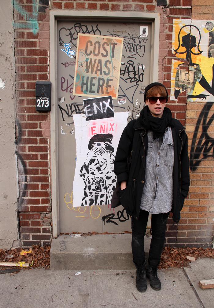 New Yorkin katutyylit: Jess