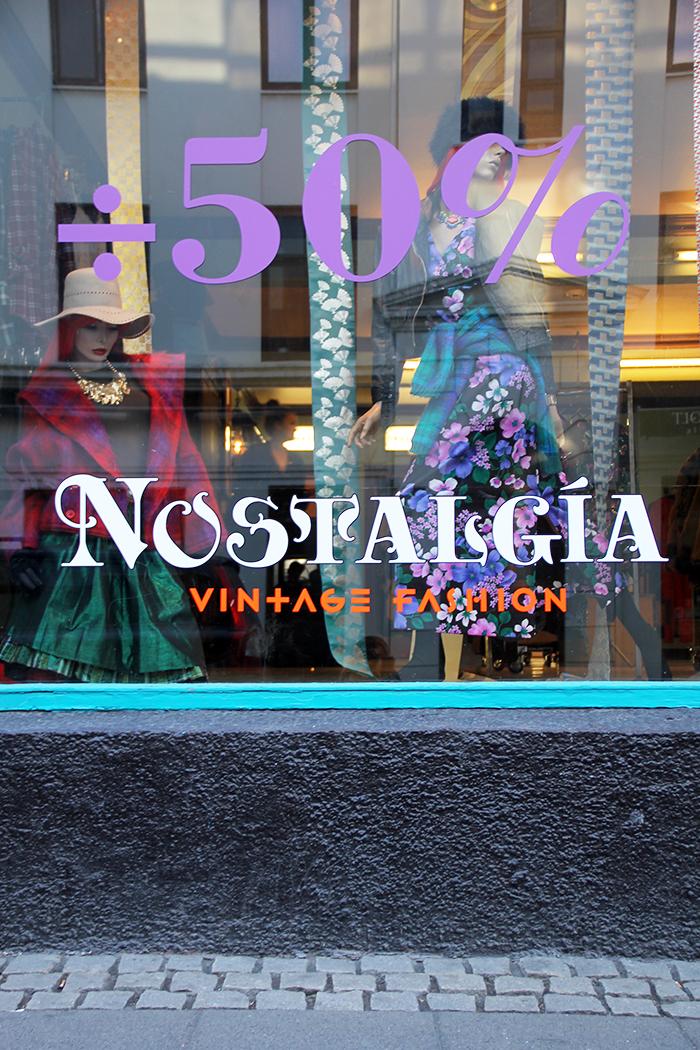 Vintage-ostoksilla Reykjavikissa