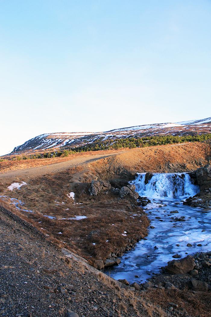 Päiväretkellä Länsi-Islannissa