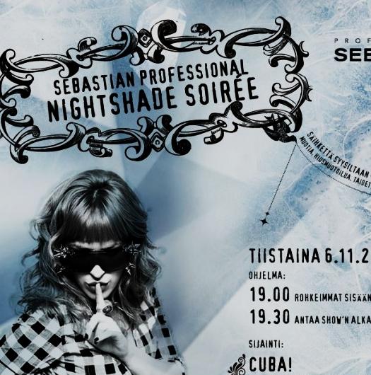 Sebastian Professional – Nightshade Soiree