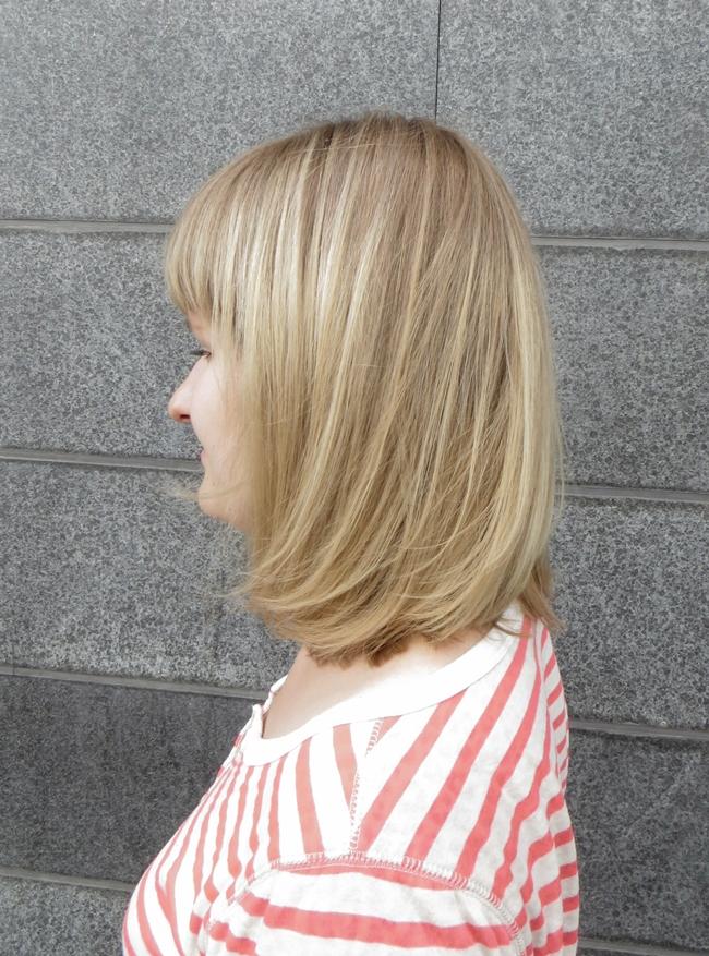 Tyvivärin ja kiiltokäsittelyn jälkeen hiukset näyttivät siis tältä  13b08394c1