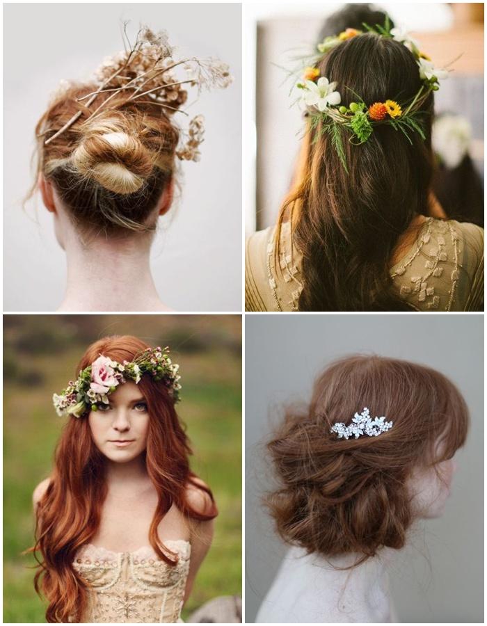 Kukkia hiuksiin, kesämorsian!