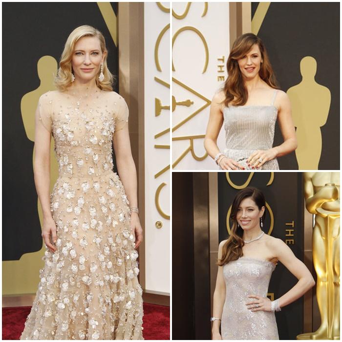 Oscar-juhlien hiusloistoa
