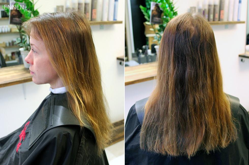 Makeover: Ohentuneiden hiusten pelastus