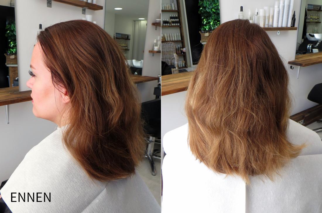 Makeover: Kuinka paljon tummaksi värjättyjä hiuksia voi vaalentaa kerralla?