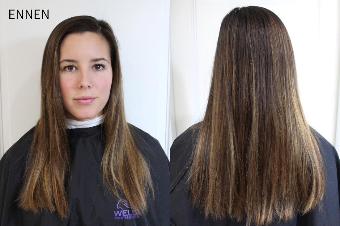Tummanruskeat hiukset hiusmuutos ennen.jpg
