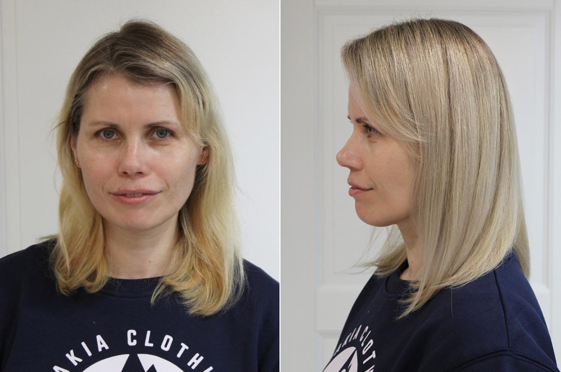 Makeover: Skandinavian blonde
