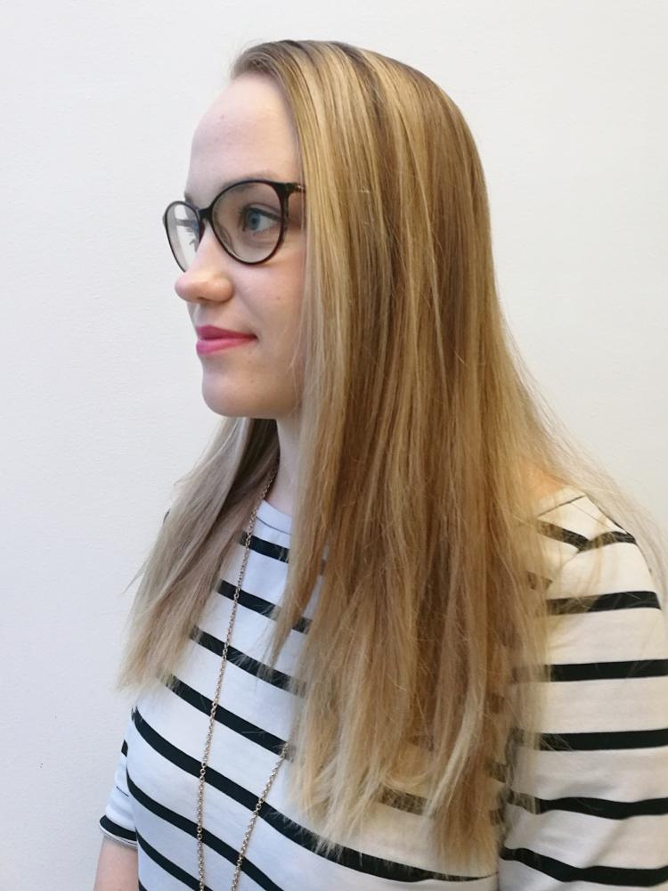Makeover: Fressi pitkä polkka