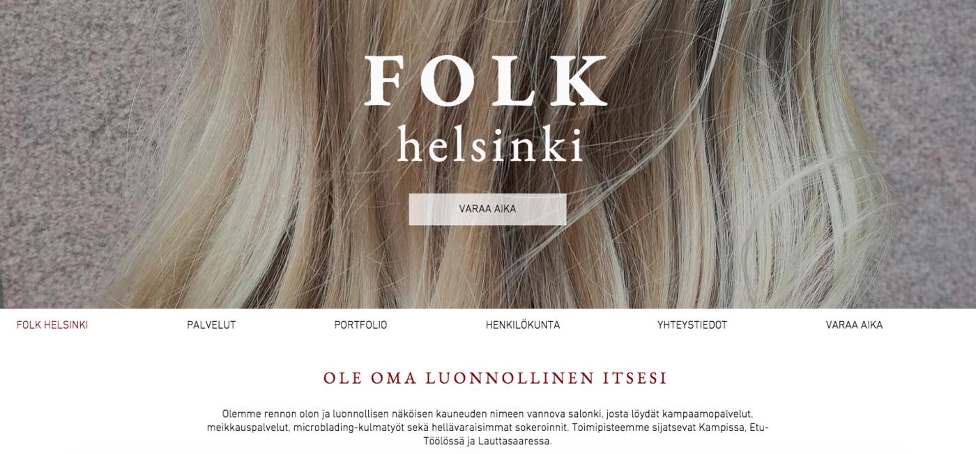 Folkin uudet nettisivut