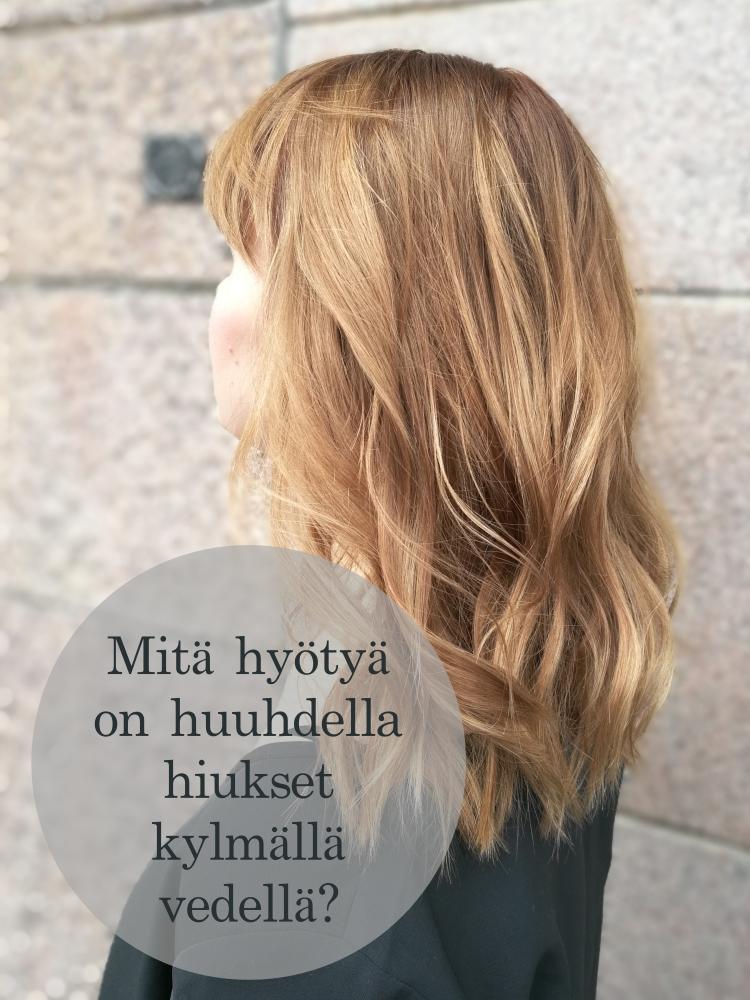 Q&A: Kannattaako hiukset huuhdella kylmällä vedellä?